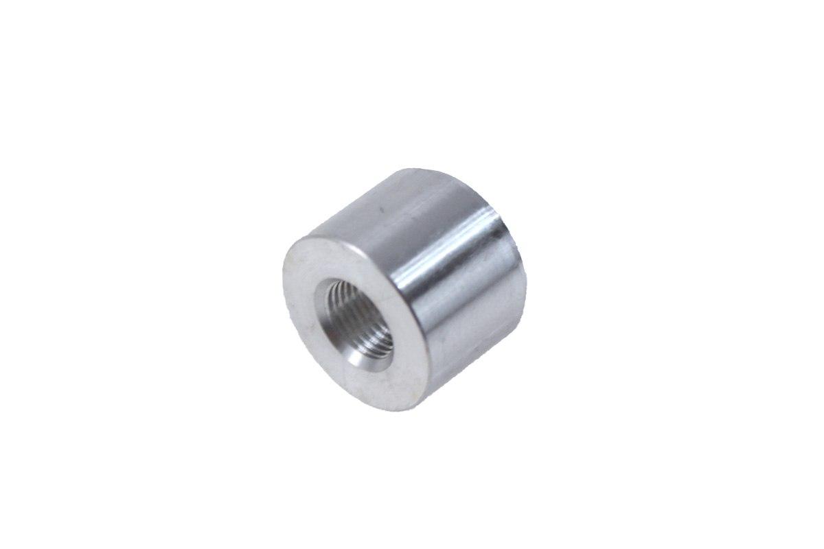 """Nypel żeński 1/8""""-27NPT do wspawania (aluminiowy) - GRUBYGARAGE - Sklep Tuningowy"""